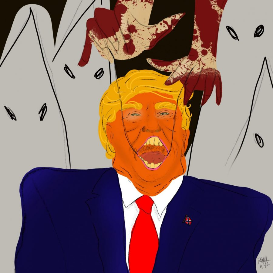 Artwork+inspired+by+President+Donald+Trump%27s+refusal+to+condemn+white+supremacy.