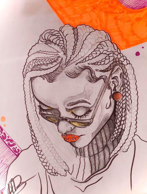 Afrocentric by Atiya Brockington Grade 12