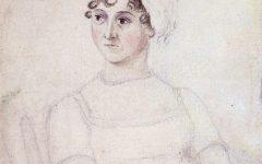 A portrait of Jane Austen.