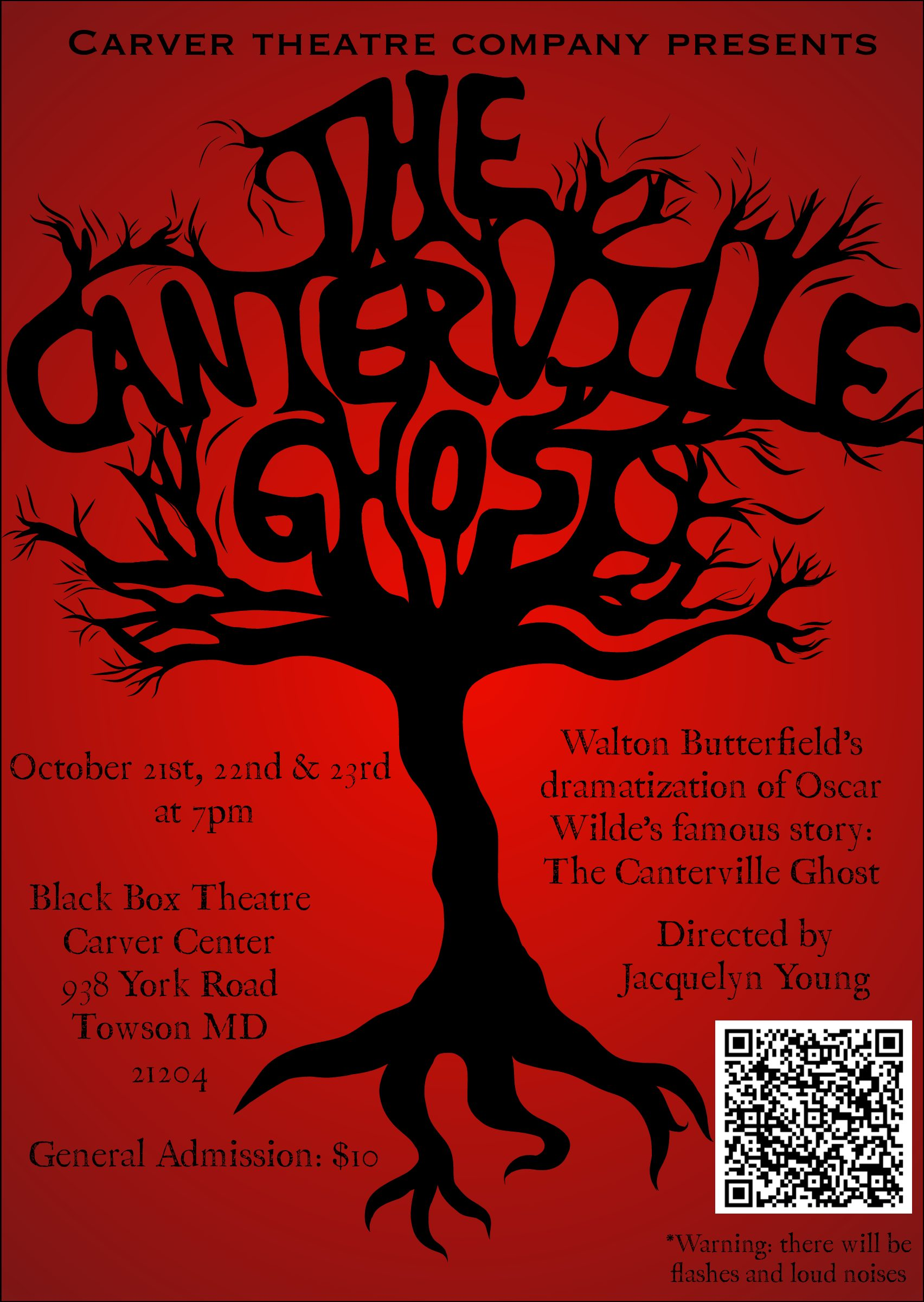 Up and coming! Carvers Fall Theatre Productions